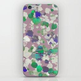 purple yell. iPhone Skin