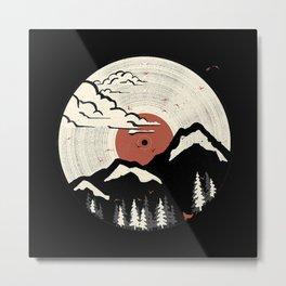 MTN LP Metal Print