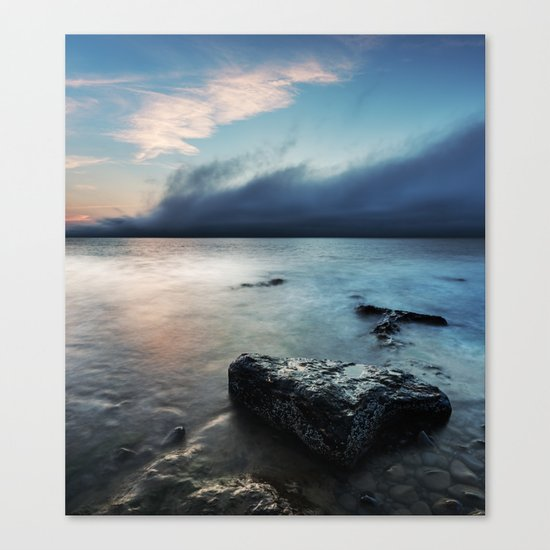 The Coming Fog Canvas Print