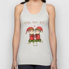Love Thy Elf Unisex Tank Top