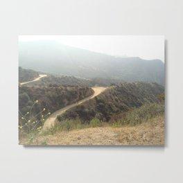 Bronson Canyon, Los Angeles, CA Metal Print
