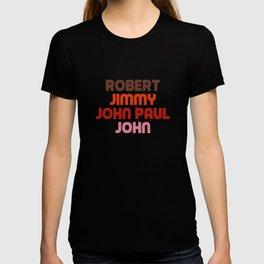 Robert Jimmy JohnPaul John T-shirt