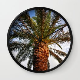 Date Palm Wall Clock