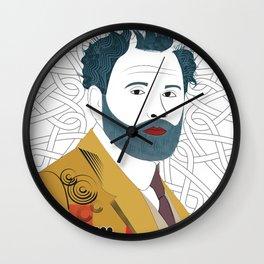 """""""Gustav Klimt"""" Wall Clock"""