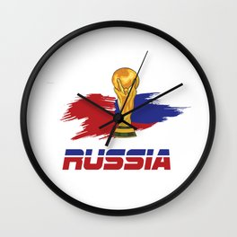 World cup russia Wall Clock