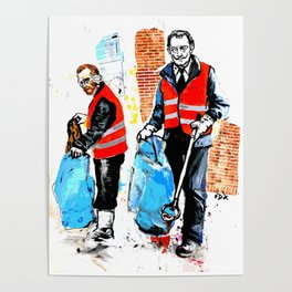 Trash Collectors Poster