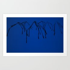 Crying Mountain Art Print