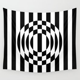 Hot Spot || Black & White Wall Tapestry
