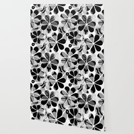 Flora Grey #society6 #buyart #decor Wallpaper