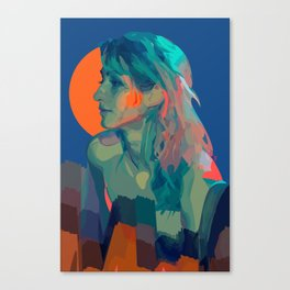 Muse Of The Mountains Canvas Print