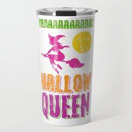 Hallow Queen for Halloween Travel Mug