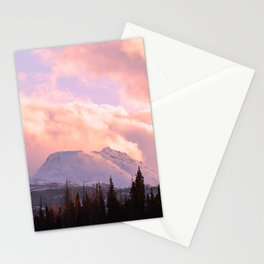 Rose Quartz Turbulence Stationery Cards