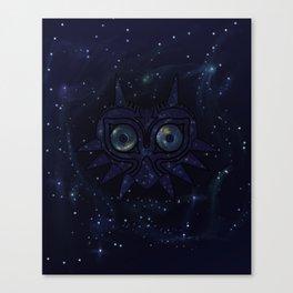 Majora's mask galaxy Canvas Print