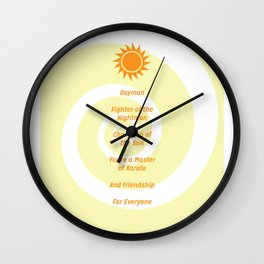 Dayman Song Wall Clock