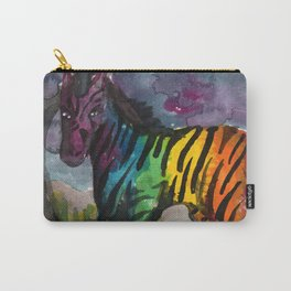 unicorn zebra Carry-All Pouch