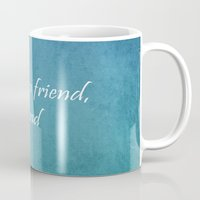 friendship Mugs featuring Friendship by Lyle Hatch