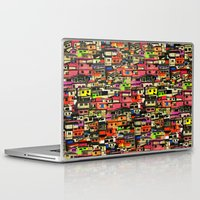 brazil Laptop & iPad Skins featuring Brazil by India Panzid