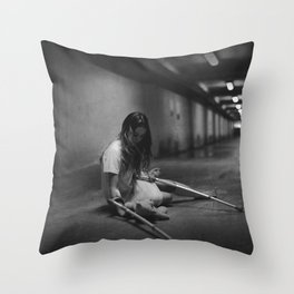 Fall Down 7, Stand Up 8 Throw Pillow