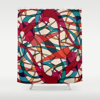dance Shower Curtains featuring - dance - by Magdalla Del Fresto
