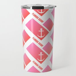 Florida Scarf Fat Pink Logo Travel Mug