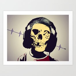 Beware the overdose Art Print
