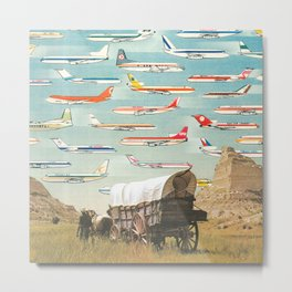 Over There Yonder Metal Print