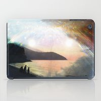 stay gold iPad Cases featuring stay gold by Kiki collagist