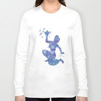 aladdin Long Sleeve T-shirts featuring Aladdin Disneys by Carma Zoe