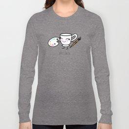 Artistaza - Artist cup Long Sleeve T-shirt