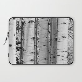 Into the Woods / Black & White Laptop Sleeve