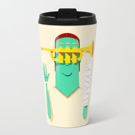 Trumpeter Broken Arm Travel Mug