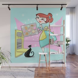 The Joy Of Cookies Wall Mural