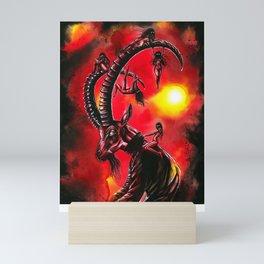 Bitches keep summon me! Mini Art Print