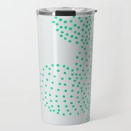 Cactus in dot Travel Mug