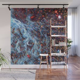 Painted Large Magellanic Cloud Wall Mural