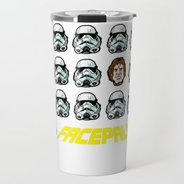 "Star Wars Facepalm! Luke Skywalker and Han Solo ""disguise"" themselves to save Princess Leia Travel Mug"