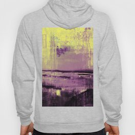 Yellow Color Patches Hoody