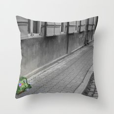 My Traveling Pack Throw Pillow