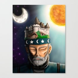 thoughtful wise Canvas Print