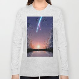 "Kimi No Na Wa ""Your Name"" v4 Long Sleeve T-shirt"