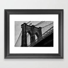 Brooklyn Bridge Framed Art Print