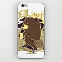 Deal with it iPhone Skin