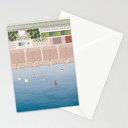 GULLIVER ON THE BEACH Stationery Cards