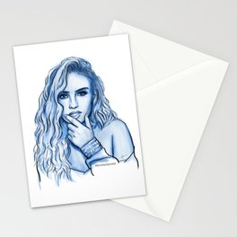 Blue Perrie Stationery Cards
