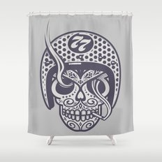 Skull 77 Shower Curtain