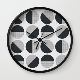 Circle Circle Dot Dot Wall Clock