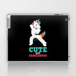 Karate & MMA Unicorn Gift: Cute But Dangerous I Judo Laptop & iPad Skin