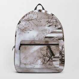 Yin Yang softness and vintage Backpack
