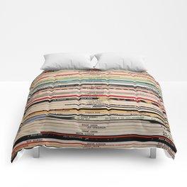 Blue Note Jazz Vinyl Records Comforters