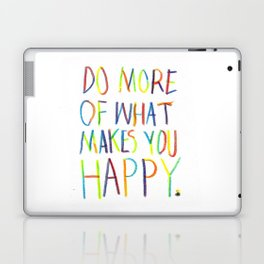 Positive Quote Laptop & iPad Skin